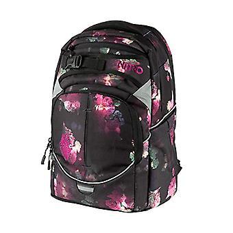 Nitro SUPERHERO Casual Backpack, 40 cm, 30 liters, Multicolored (Black Rose)
