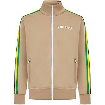 Palm Angels Exodus Classic Track Beige Jacket