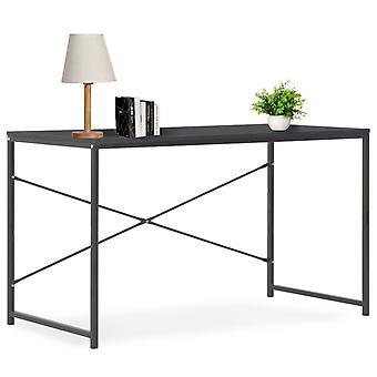vidaXL Pöytä Musta 120×60×70 cm