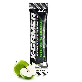X-Gamer X-Shotz Steve's Apple (Apple Flavoured) Energy Formula - 10g