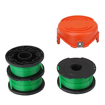 4x SF-080 Spools and Cap Combo Set String Trimmers Remplacement Spool