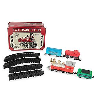 Funtime Train In A Tin Toy