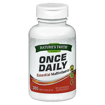 Nature's Truth Nature'S Truth Once Daily Essential Multivitamin Mini Tablets, 365 Tabs