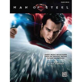 Man of Steel Sheet Musikval från Original Motion Picture Soundtrack av kompositören Hans Zimmer