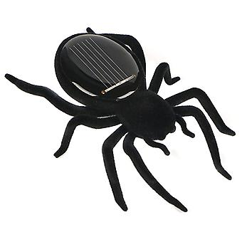 Automatic Solar Spider Educational Robot Insect Gadget Trick Moving Toy For Kids