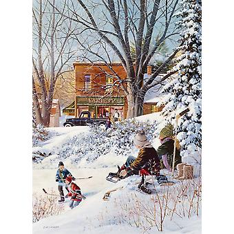 Cobble Hill Getting Ready Jigsaw Puzzle (1000 Pieces)