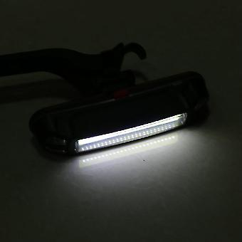 USB wiederaufladbare Cob Led Fahrrad vorne Rücklicht Warnleuchte