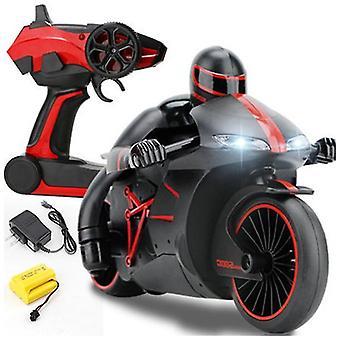 2.4G Mini Mote Fjernkontroll Drift Motor Barn Leker For Gave rc motorsykkel (Rød)