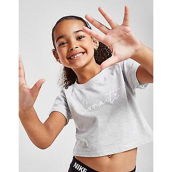 New Sonneti Girls' Mini Essential Crop T-Shirt from JD Outlet Grey