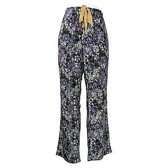 Maidenform Women's Novelty Printed Fleece Pajama Pants Black 631063