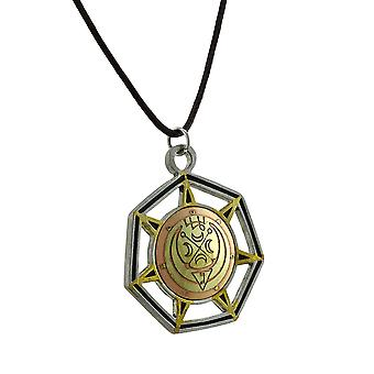 Gabriel, engel van de maan middeleeuwse Magick charme W / koord ketting