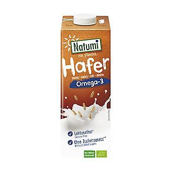 Organic oatmeal and omega 3 drink 1 L