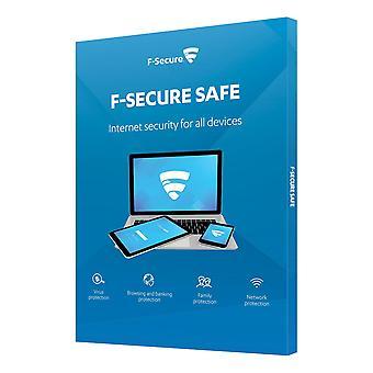 F-Secure SAFE SAFE Ochrana v reálnom čase, 1 zariadenie, 1-ročné PRIPOJENIE