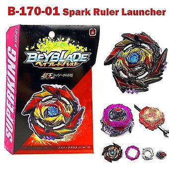 Spinning tops spark ruler launcher beyblade burst superking b-170 01 death diabolos