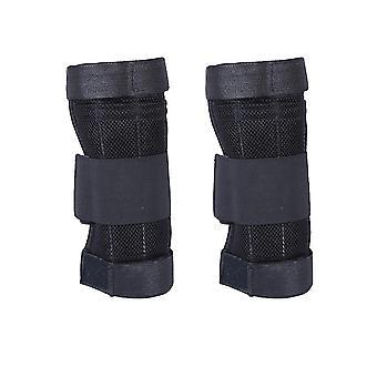Homemiyn Gewicht-dragende Vest Full Body Exercise Pols en Been, 1kg (Been) (Zwart 1KG)