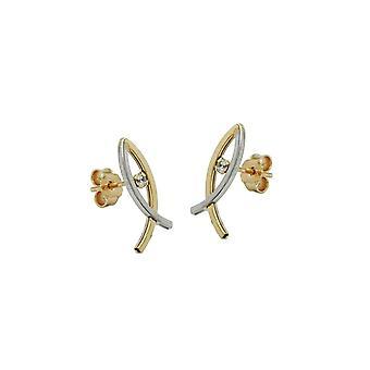 Earrings Fish Symbol 9k Gold 43001 43001 43001