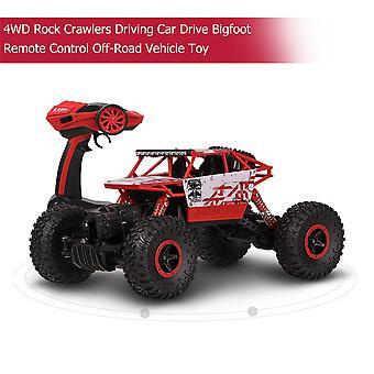 4wd Rock Crawlers Driving Car Drive Bigfoot Remote Control Off-road Vehicle