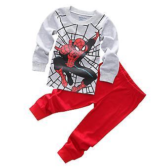 Szuperhős Pizsama Kids Boys Hálóruhák Pizsama Set Outfit Pjs
