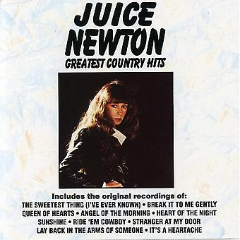 Juice Newton - Greatest Hits Country [CD] USA import