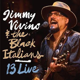 Jimmy Vivino & the Black Italians - 13 Live [CD] USA import