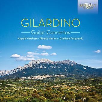 A. Gilardino - Gilardino: Guitar Concertos [CD] USA import
