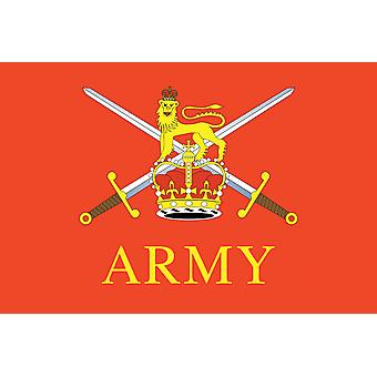 5ft x 3ft Flag - British Army