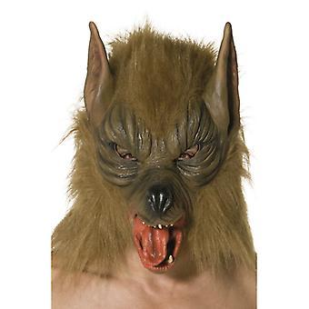 Vlčí maska maska vlkodlak zvířecí vlk maska zvířecí maska latex
