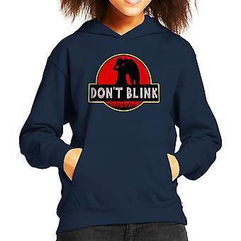 Dr die Jurassic Park Dont Blink Kid de Hooded Sweatshirt