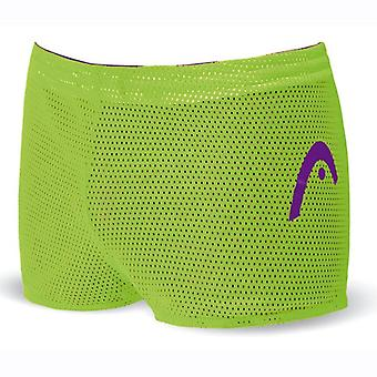 Head Unisex Double Power Reversible Drag Shorts - Violet/Green