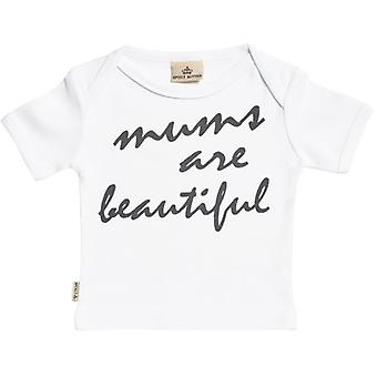 Spoilt Rotten Mum's Are Beautiful Short Sleeve Baby T-Shirt