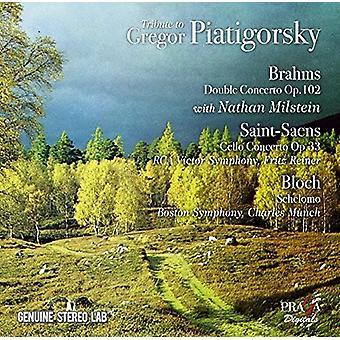 Gregor Piatigorsky - Tribute to Gregor Piatigorsky: Works by Brahms [CD] USA import