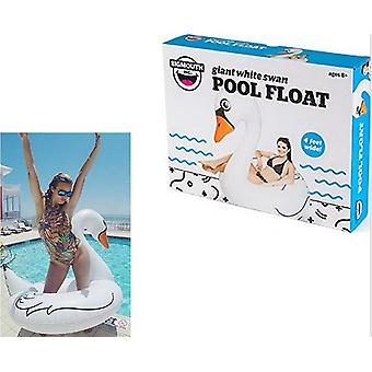 BigMouth Inflatable Giant White Swan Pool Float Beach Holiday Swimming Lounger Water Beach