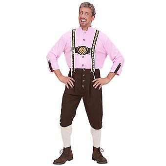 Costume tissu lourd bavarois homme