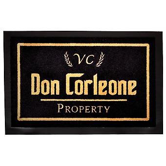 Felpudo de mafia Don Corleone