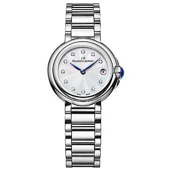 Maurice Lacroix naisten Fiaba 28mm Diamond asettaa rannekello FA1003-SS002-170-1 Watch