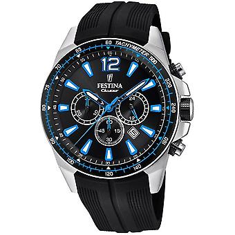 Festina mens watch chronograph F20376-2