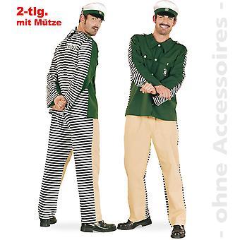 Politie kostuum kostuum Mens Double kostuum draaien veroordelen de heer kostuum