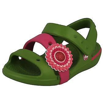 Девочек Crocs ремень сандалии - стиль - сандал Keeley девочек