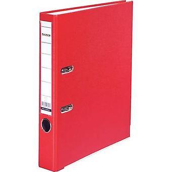 Largura do Falken pasta FALKEN PP-cor A4 lombada: 50mm vermelho 2 suportes de 9984162