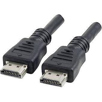 Manhattan HDMI Cable 1.80 m Black [1x HDMI plug - 1x HDMI plug]