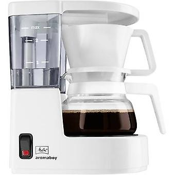 Melitta Aromaboy ws Coffee maker White Cup volume=2