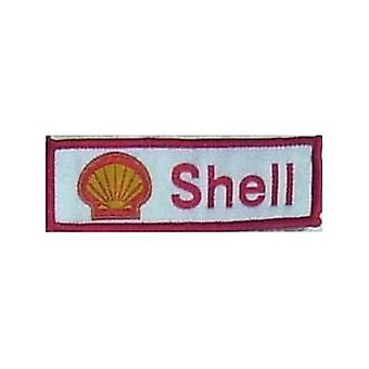 Shell Iron-On/naai-On doek Patch (Lscape)