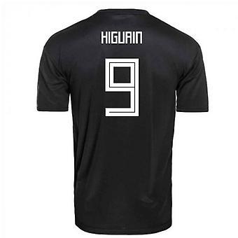 2018-2019 Argentina Away Adidas Football Shirt (Higuain 9)