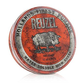 Reuzel Red Pomade (water Soluble High Sheen) - 340g/12oz