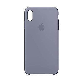 Apple iPhone XS Max Silicone Case - Lavender Grey