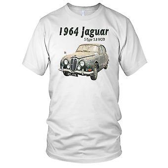 Jaguar S Type 1963 voiture classique dames T Shirt