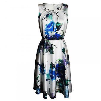 Michaela Louisa Women's Sleeveless Floral A Line Dress