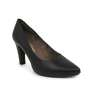Liberitae Salon Salon shoes thin smooth leather black 21719460-03
