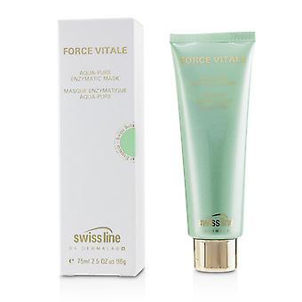 Swissline Force vitale Aqua-Pure enzymatisk Mask-75ml/2.5 oz