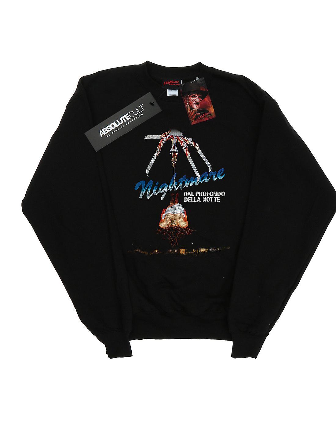A Nightmare On Elm Street Men's Italian Movie Poster Sweatshirt